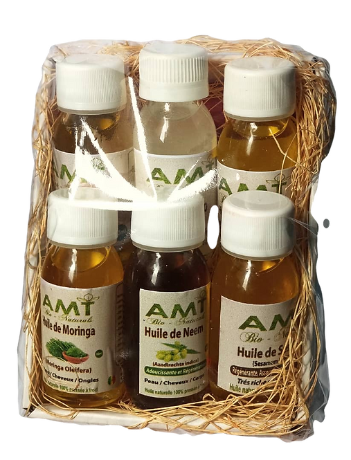 Gift Box Mixed Oils/ Coffret 6 Huiles