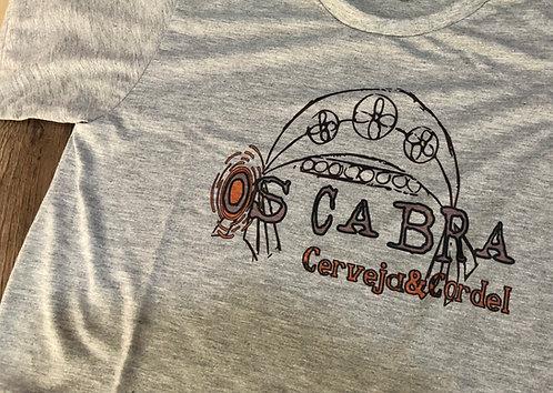 "Camiseta ""OS CABRA, CERVEJA&CORDEL"""