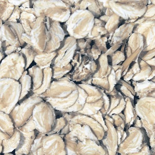 Gluten Free Jumbo Oatflakes (Organic)  (per 100g)