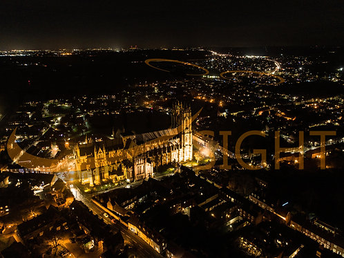 Beverley Minster at Night