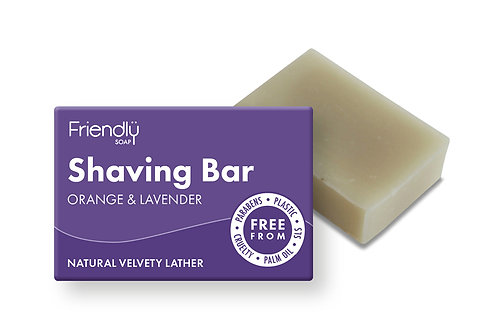 Friendly Shaving Bar - Orange & Lavender