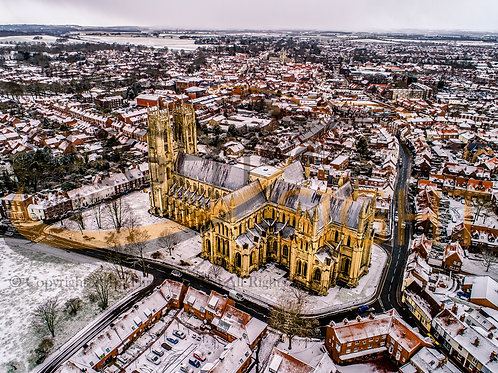 Beverley Minster in the Snow 2