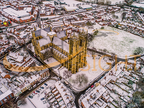 Beverley Minster in the Snow 7