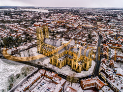 beverley Minster in the Snow