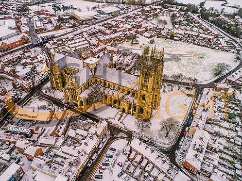 Beverley Minster in the Snow 6