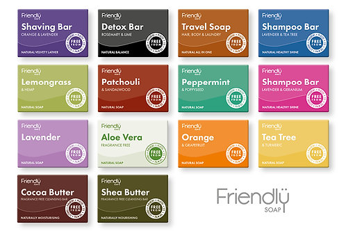 Friendly Soap Bars