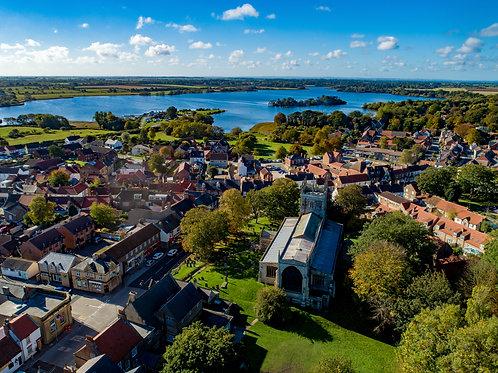 St Nicholas Church & Hornsea Mere