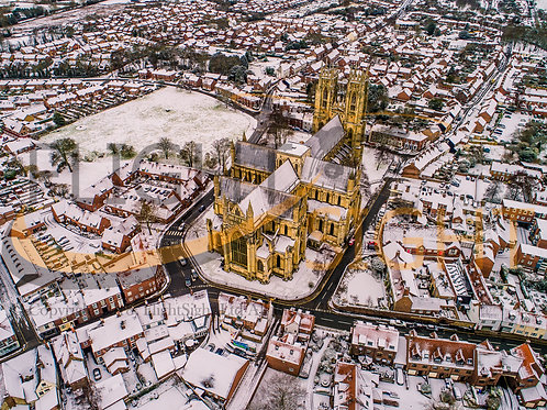 Beverley Minster in the Snow 5
