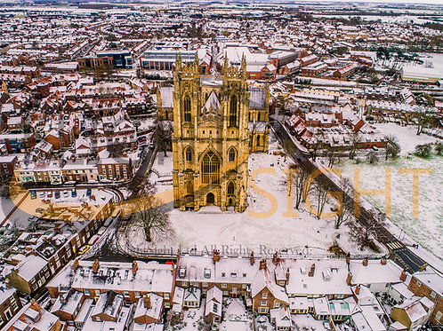Beverley Minster in the Snow 8