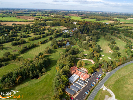Capturing Aerial Images of Golf Courses