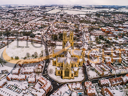 Beverley Minster in the Snow 4
