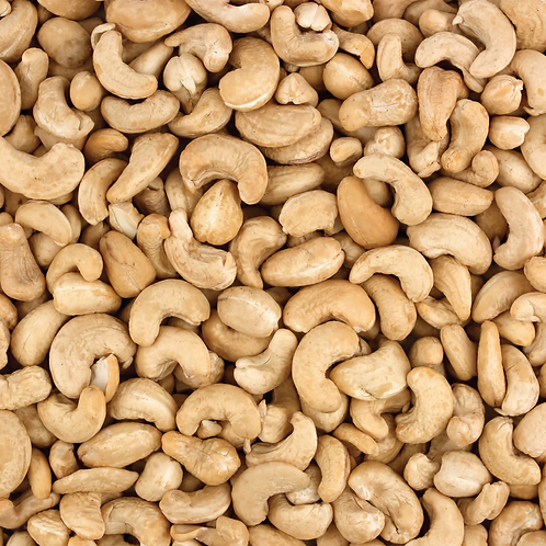 Roasted & Salted Cashews  (per 100g)
