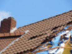 Roof damage insurance caim