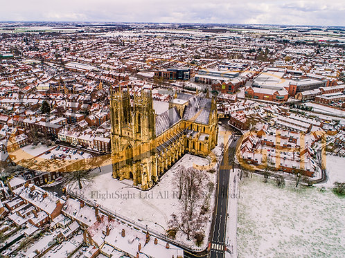 Beverley Minster in the Snow 1
