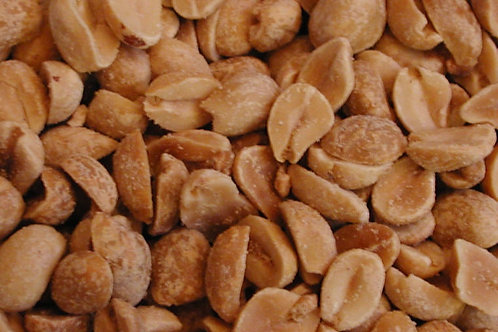 Dry Roasted Peanuts  (per 100g)