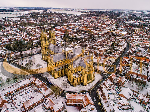 Beverley Minster in the Snow 3