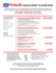 Fairfield County Roast 19 Sponsorship Sh