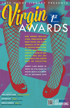 Late Night Library's 1st Annual Virgin Awards