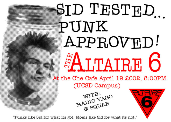 Sid Tested...Punk Approved!