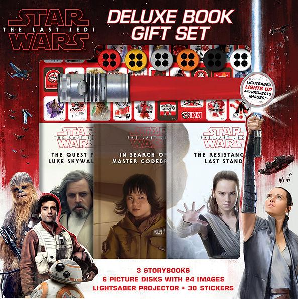 Star Wars Last Jedi Deluxe Book Gift Set