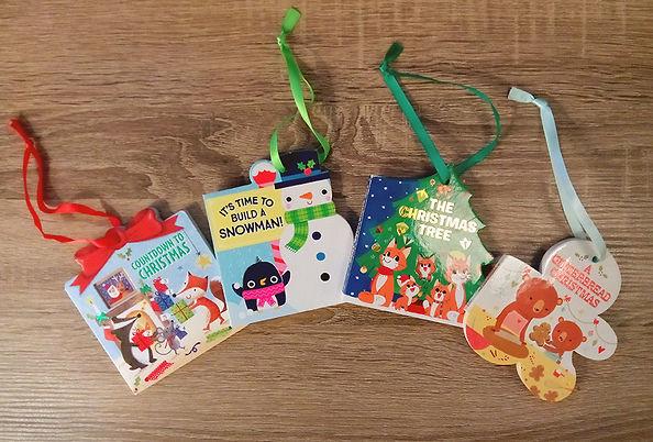 Christmas Gift Tag Books