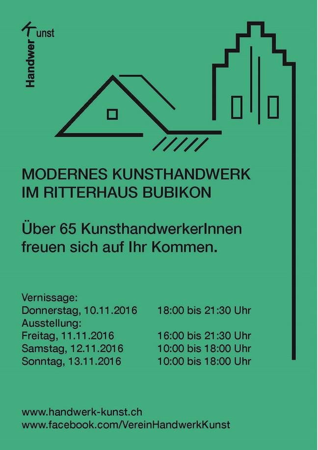 Modernes Kunsthandwerk im Ritterhaus Bubikon