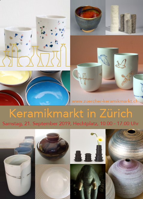 Keramikmarkt in Zürich