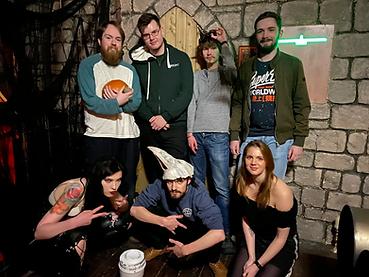 A team in plague room