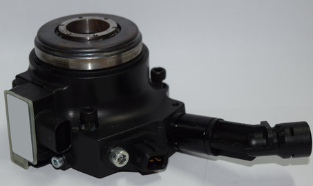 Instrumented concentric slave cylinder (CSC)