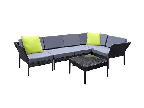 6 Piece Outdoor Wicker