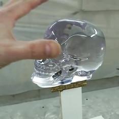 Арт-объект_ Хрустальный череп_..mp4