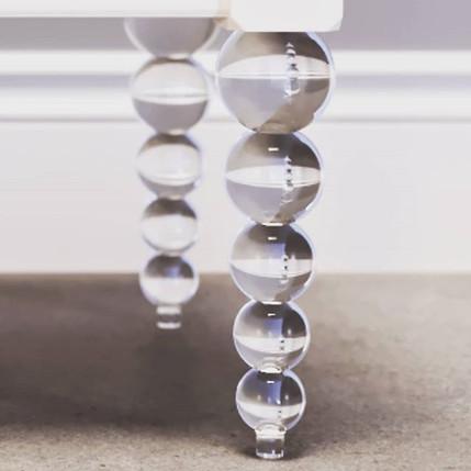 Мебельные опоры-Имитация стекла. Новейша