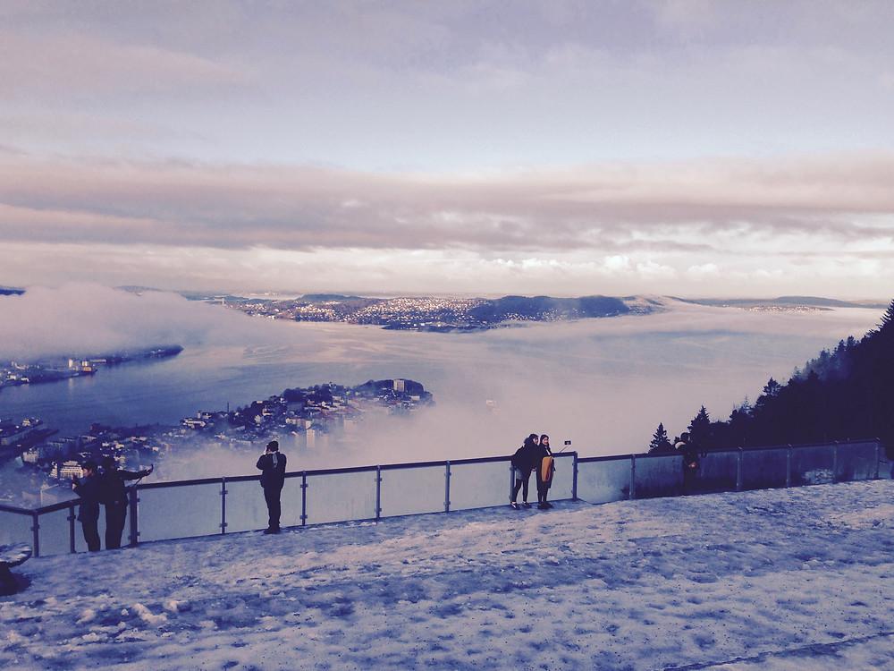 Bergen, Floyen Mountein, November 2017