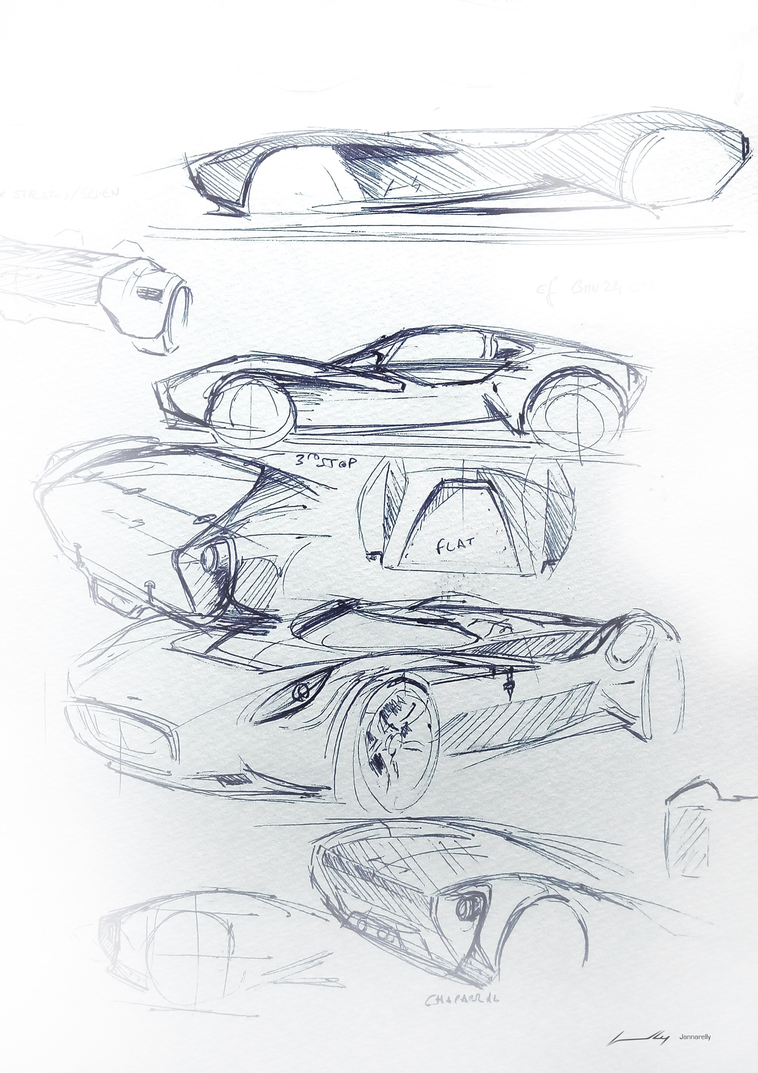 sketches Jannarelly 6