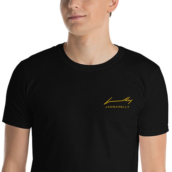 Gold Signature / Embroidery T-Shirt Jannarelly