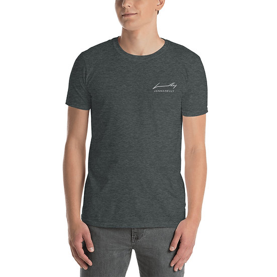 White Signature / Embroidery T-Shirt Jannarelly