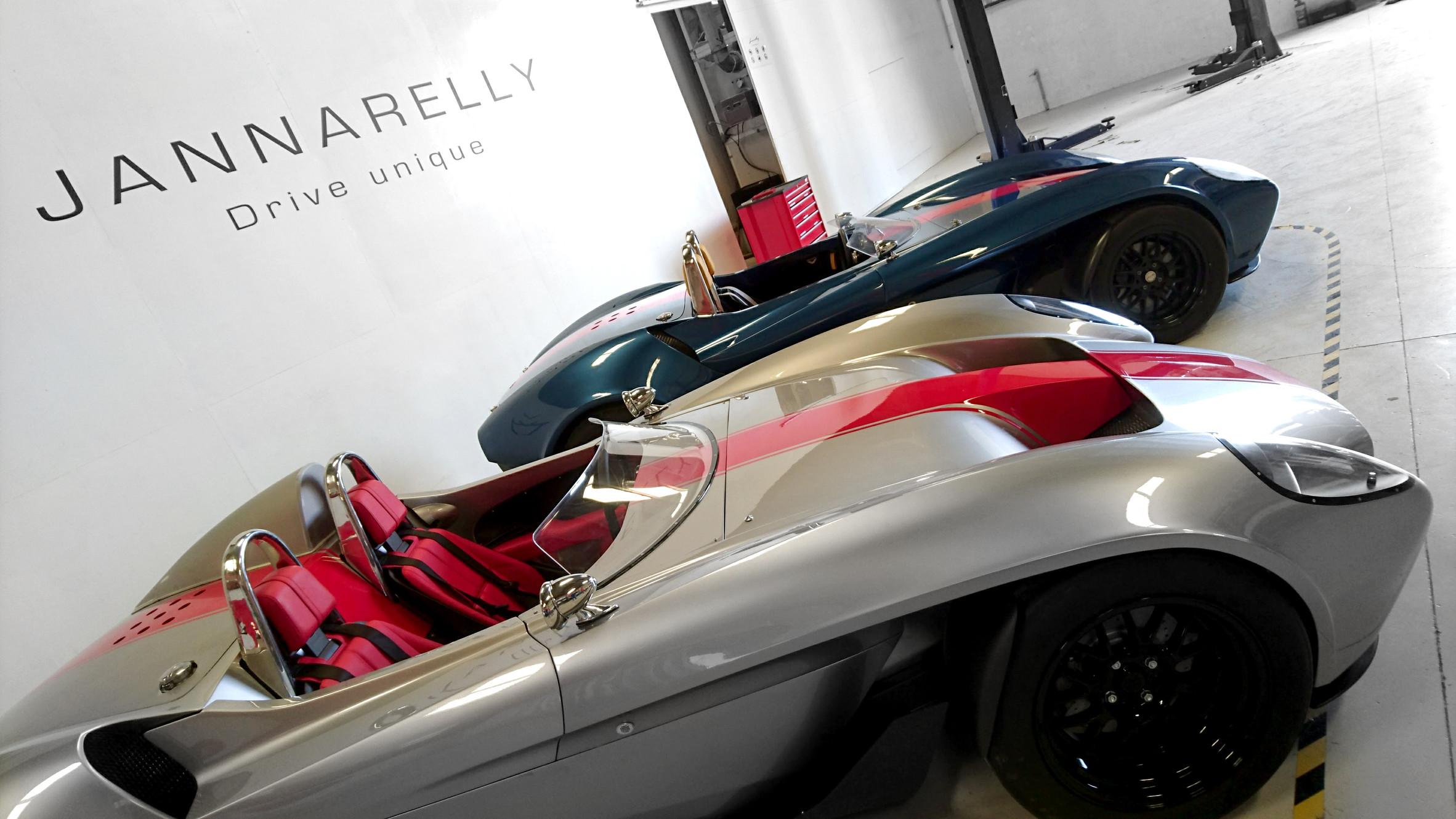 Sports Cars Manufacturer Dubai Jannarelly Automotive