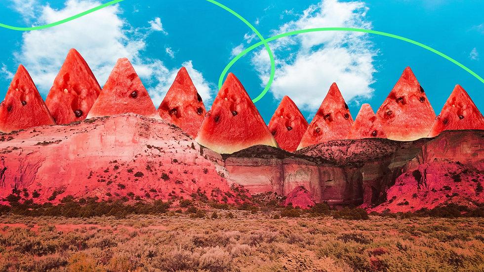 Sandia Mountains (Watermelon)
