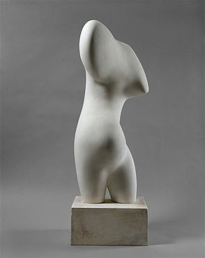 Sculpture de Jean Arp au Musée Peggy Guggenheim à Venise