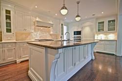Newly Sprayed Kitchen In Cloud White