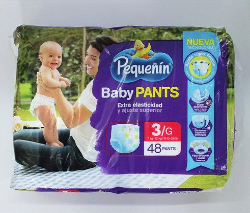 Pequeñin BabyPants 3x48Unds