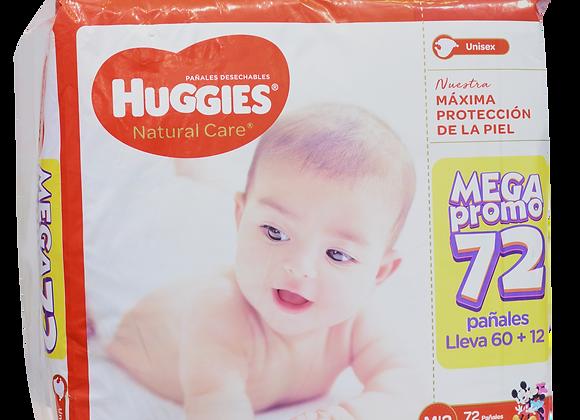 Huggies Natural Care x72 Etapa 2