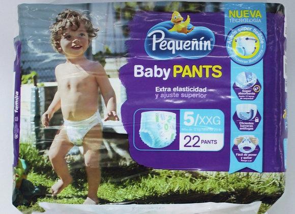 Pequeñin BabyPants 5x22Unds