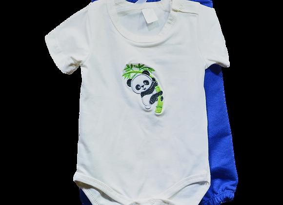 Dos Piezas Niño Panda