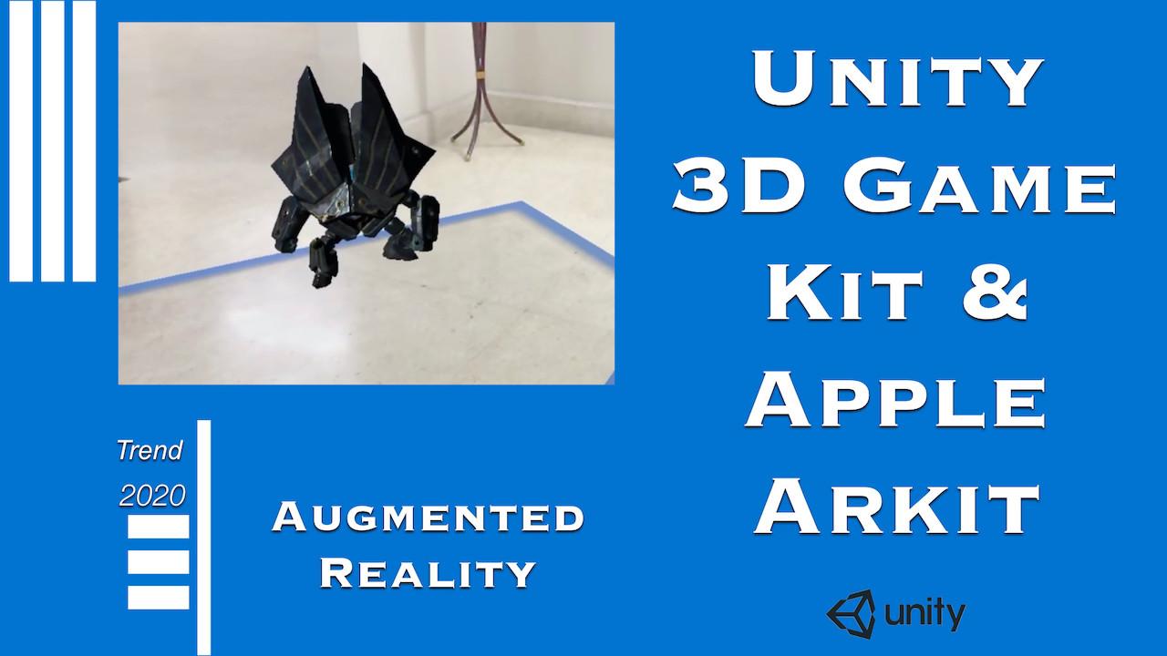 3DGamekit+Apple Arkit