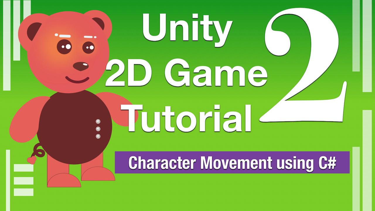 Unity 2D Game Tutorial Part2