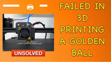 Unsolved 3d Printing problem