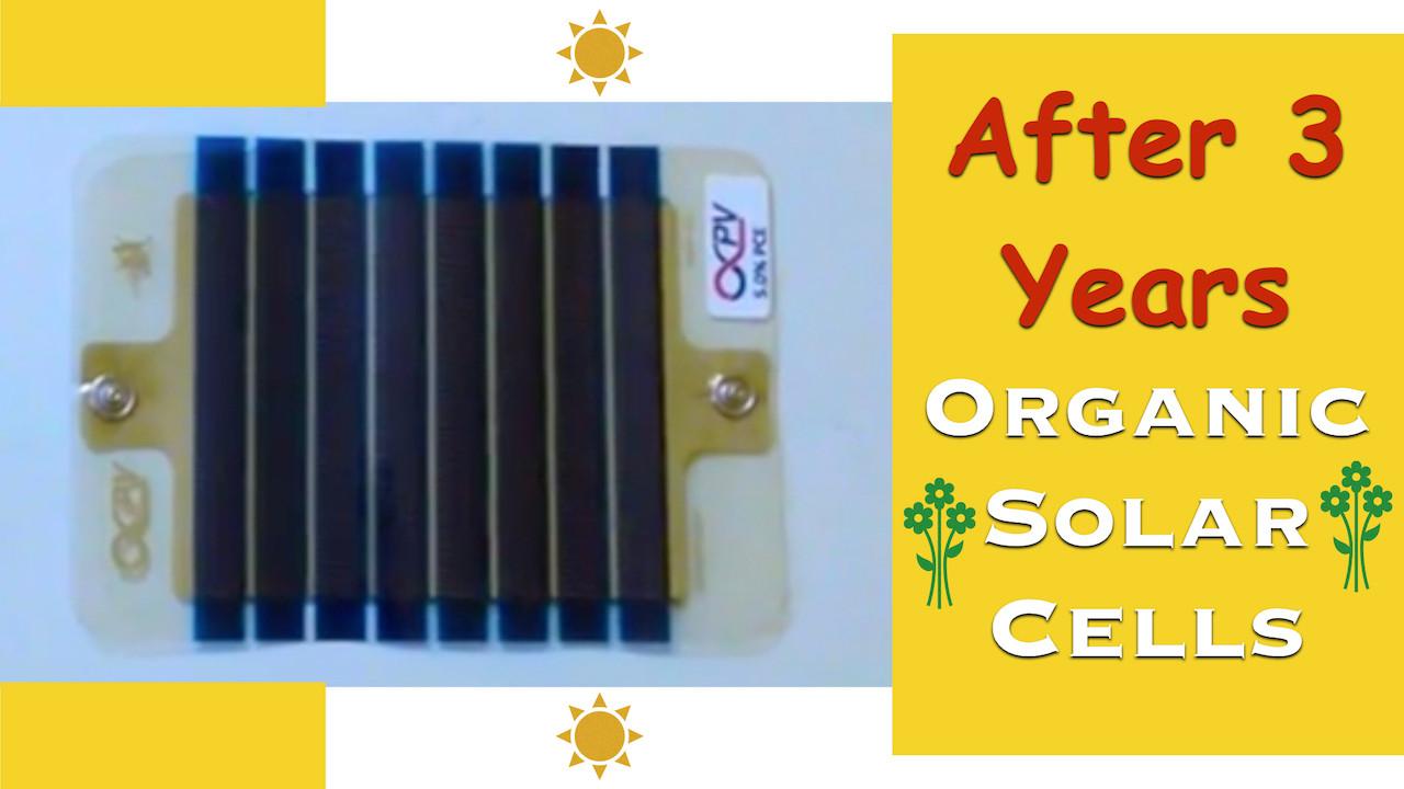 Organic Solar Cells - II