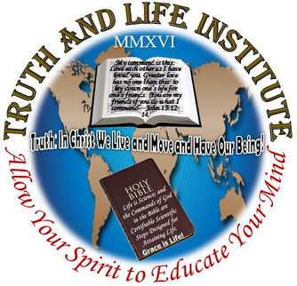 Logo of Truth and Life institute, Incorporated