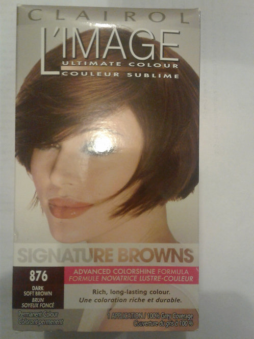 CLAIROL L'IMAGE ULTIMATE COLOUR (876 Dark Soft Brown)